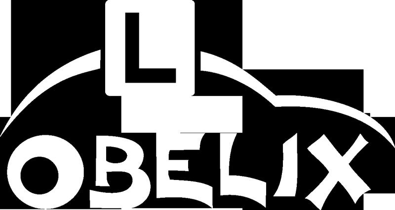 Logo OSK Obelix białe